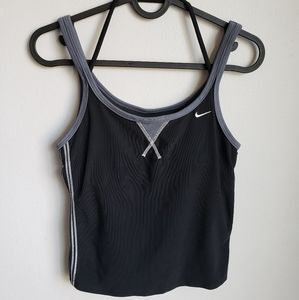 Nike dri fit Cropped Running Tank